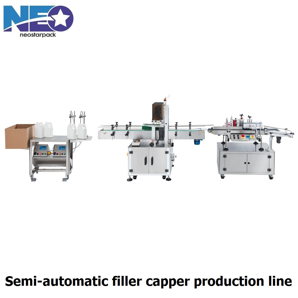 automatic filler capper production line