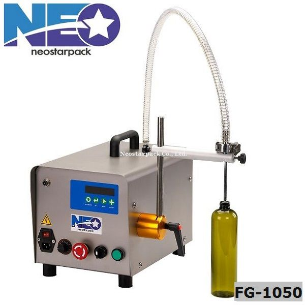 Tabletop Gear Pump Liquid Filler FG-1050