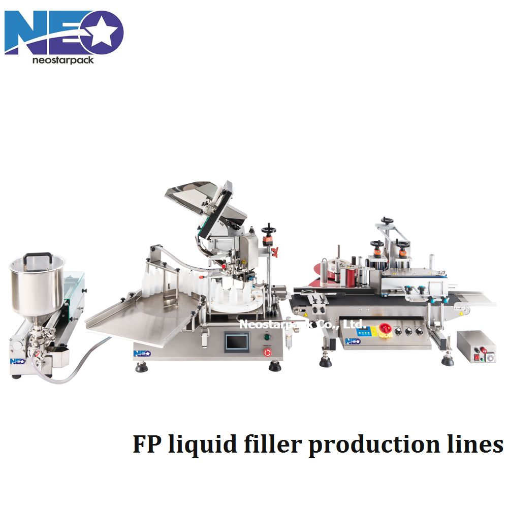 Small bottles filling capping line
